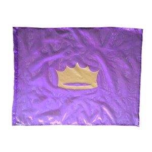Flag: Crown - Purple