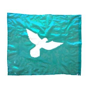 Flag: Dove - Turquoise