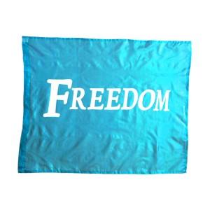 Flag: Freedom - Turquoise
