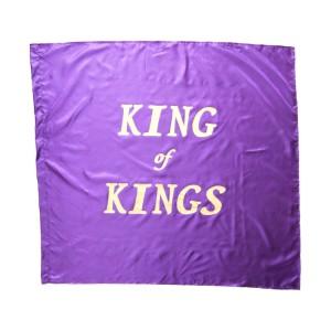 Flag: King of Kings - Purple