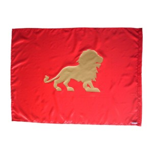 Flag: Lion - Red